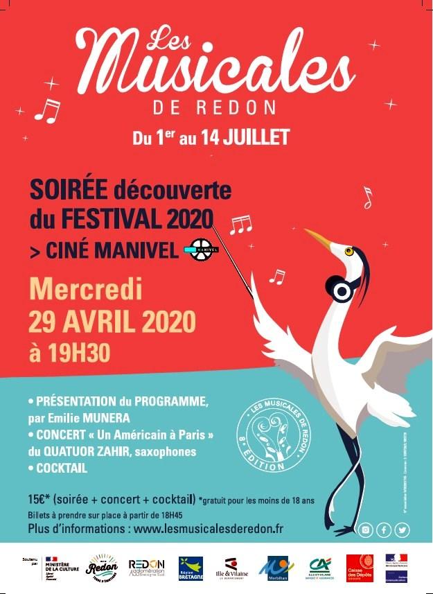 SOirée d'ouverture du Festival des Musicales