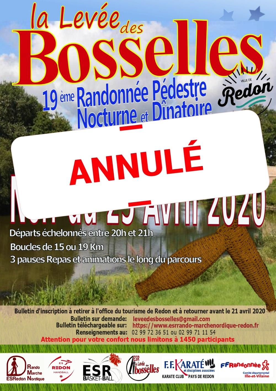 La Levée des Bosselles - Redon Annulée en 2020