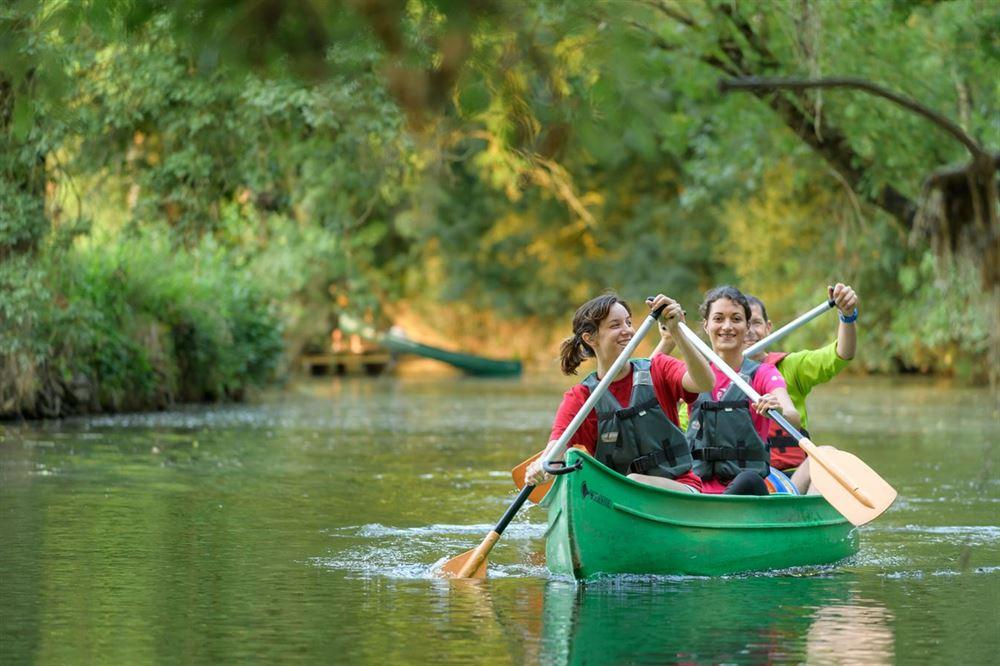 Escapade à l'île aux pies - canoe