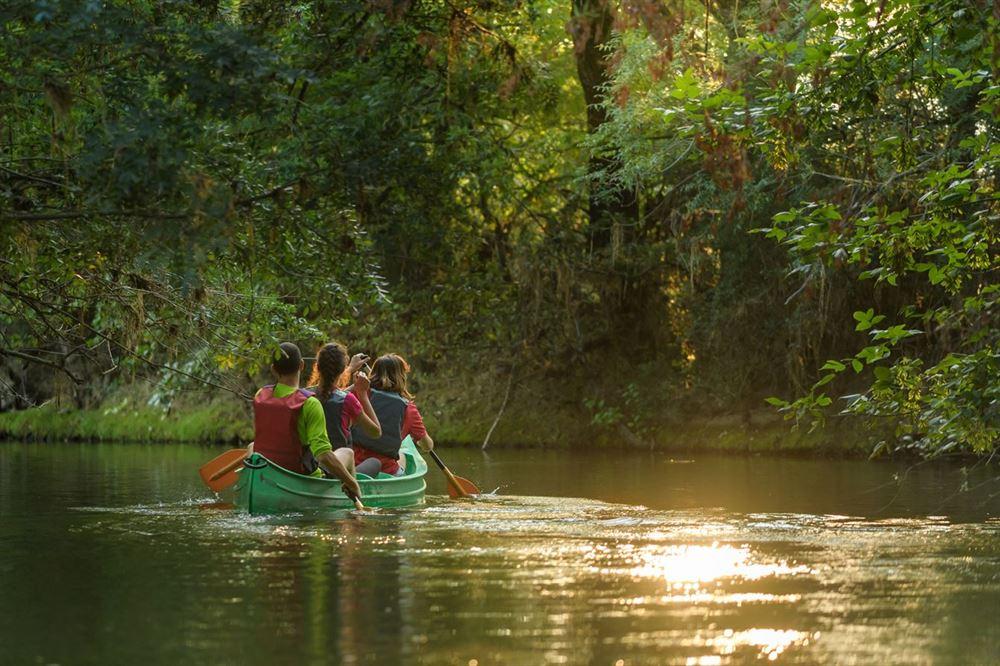Escapades canoe à l'ile aux pies - Morbihan Saint Vincent sur Oust