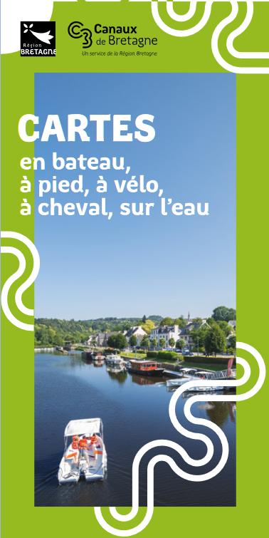 Carte des canaux de Bretagne - Ed 2021