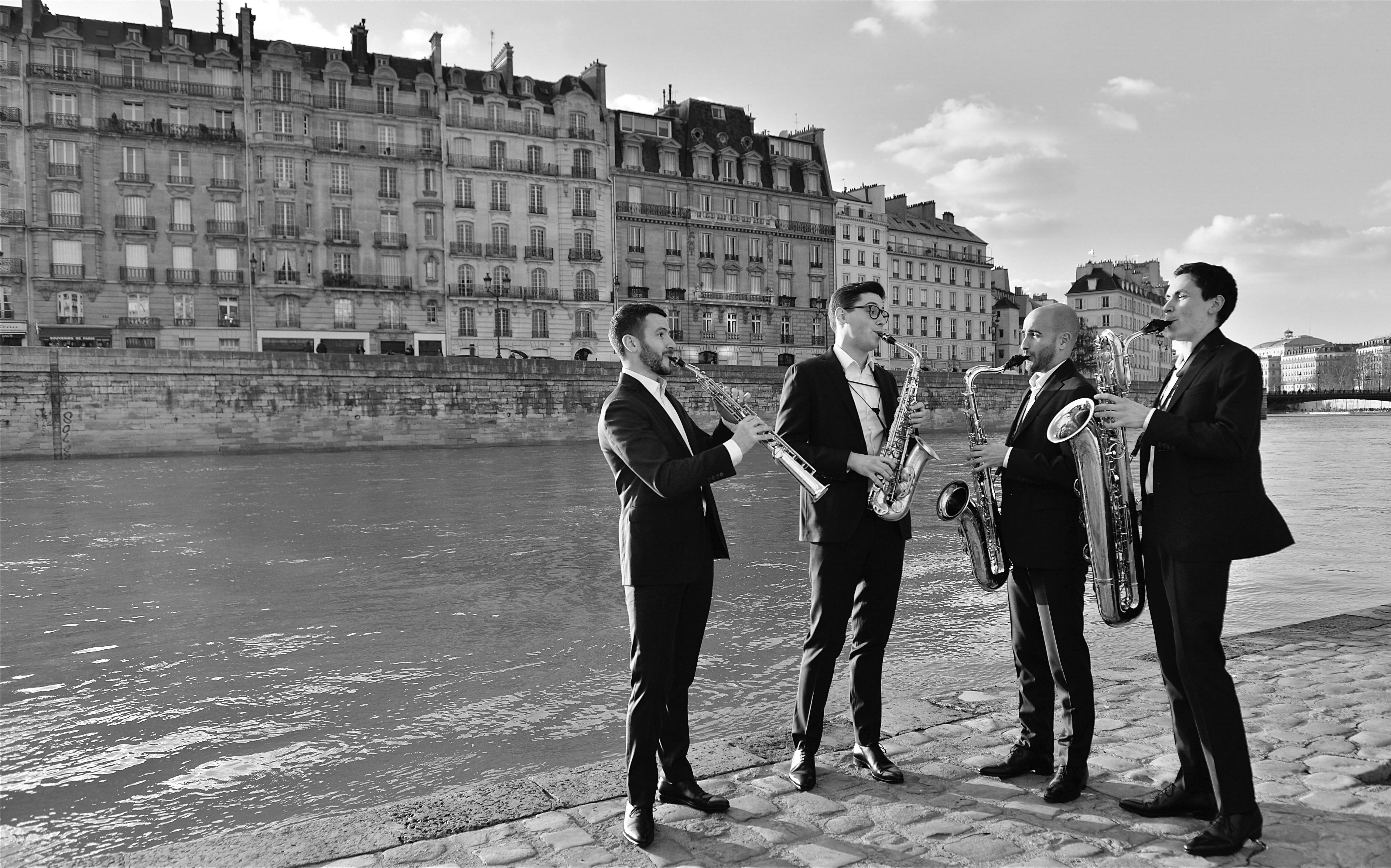 quatuor Zahir pour le festival des musicales - Redon