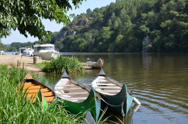 Escapades à l'ile aux pies canoe - Morbihan Saint Vincent sur Oust