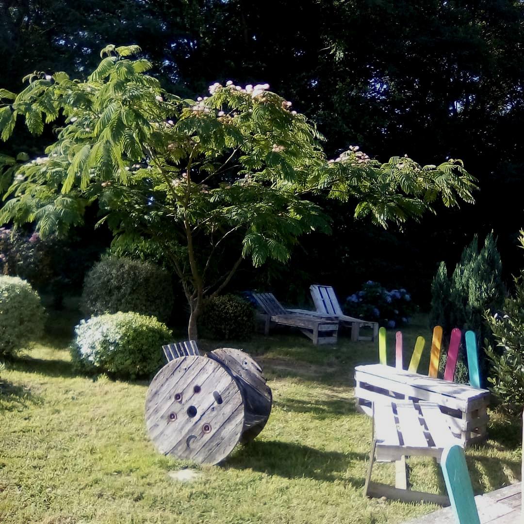 Les Jardins de pirouette à Plessé