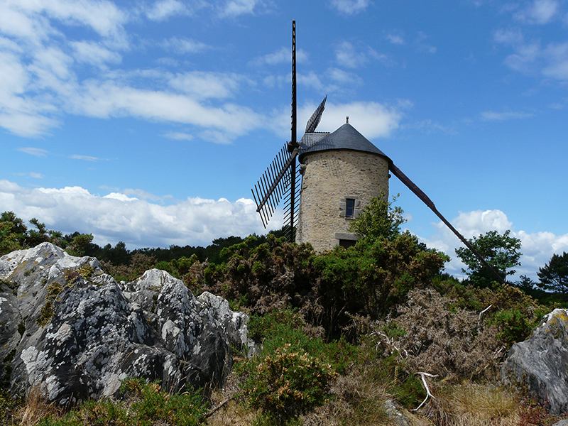 Moulin de St Jacut les Pins - ELemare