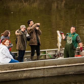 Pêche en vilaine - Expérience Bretonne