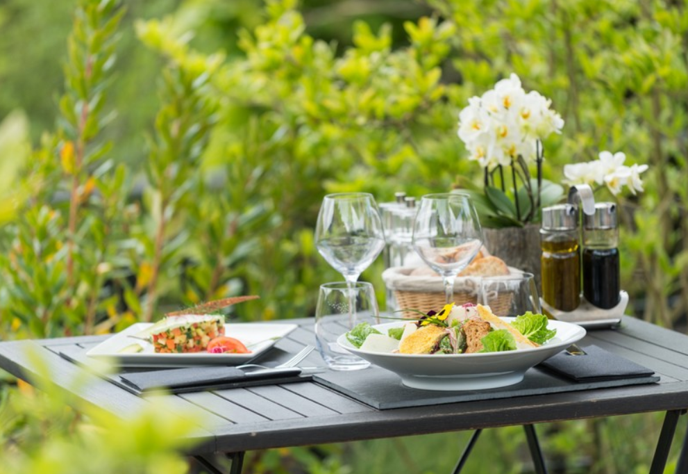 Table restaurant le végétarium à La Gacilly
